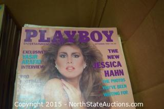 Lot of Vintage Playboy Magazines