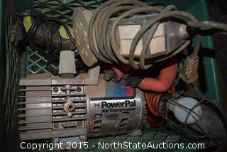 Lot of Air Compressor and Jointer-Planer