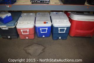 Lot of  Ice Chests