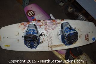 Lot of Wakeboards