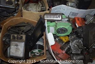Lot of Small Engine Parts and More