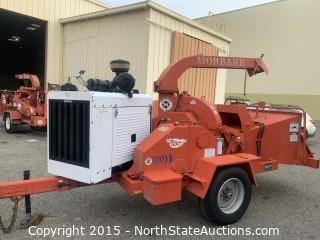 Morbark Chipper, 2012-D Storm Cat Diesel Powered, California Compliant engine 30255