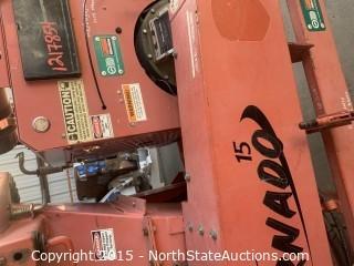 Morbark Tornado 15 Wood Chipper Perkins Diesel powered