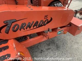 Morbark Tornado 15 Wood Chipper Perkins Diesel powered  24265