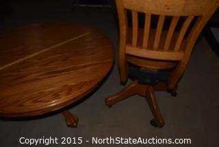 Coffee Table and  Desk Chair