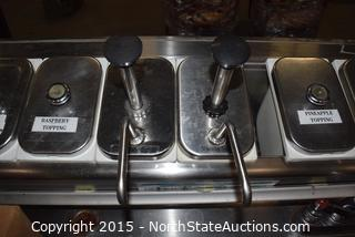 Commercial Sinks and Condiments Holders