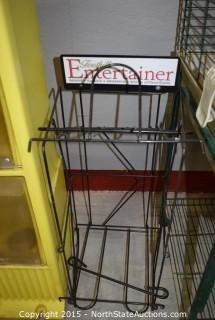 Newspaper Holders and Small Animal Cage