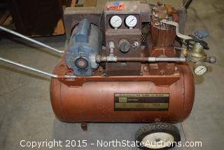 Sears Craftsman Air Compressor and Paint Sprayer