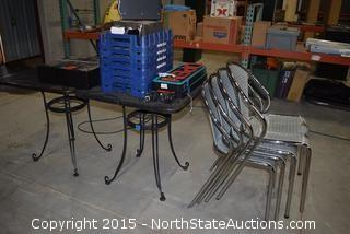 Lot of Misc (Outdoor Tables)