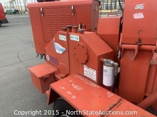 morbark 2012-D Storm Wood Chipper, Perkins Diesel Powered  30253