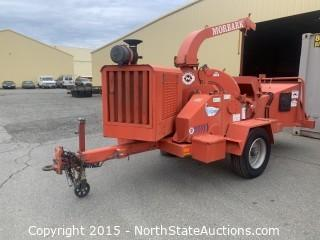 morbark 2012-D Storm Wood Chipper, Perkins Diesel Powered  30253