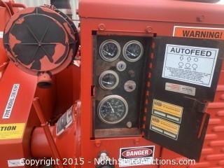 Morbark chipper 2070XL Twister,  Perkins diesel powered.