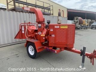 Morbark chipper 2070XL Twister,  Perkins diesel powered.