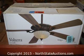 Volterra Ceiling Fan and Light Fixture