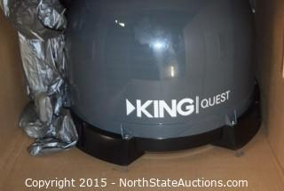 King Quest Portable Automatic Satellite TV Antenna