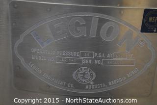 Legion Steam - Jacketed Kettle