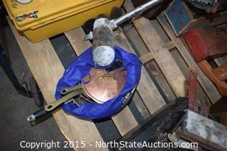 Lot of Misc Household Goods (Rocking Horse)