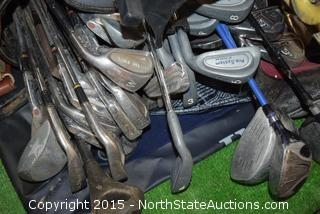 Lot of Misc (Golf Clubs)