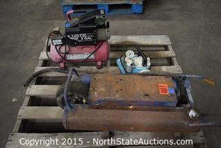 Lot of Misc (Air Compressor)