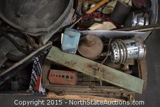 Lot of Misc Old Auto Parts