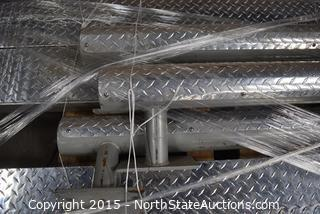 Diamond Plate Guard Rails