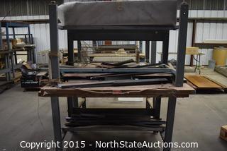 Lot of Workshop Tables