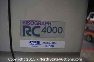 Risograph RC 4000 Copier and More