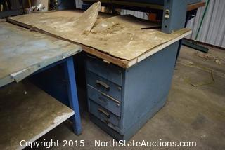 Lot of Workshop Tables and Desk