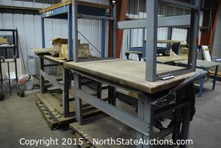 Lot of Workshop Tables