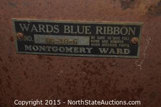 Antique Wards Blue Ribbon Stove