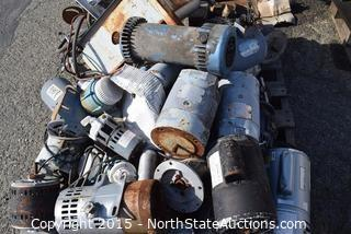 Huge Lot of Alternators and Motors