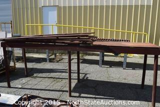 Metal Table,  Scaffolding and Conveyor Table