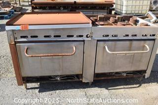 Commercial Grill/Griddle/Oven