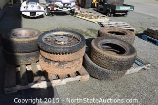 Lot of Misc Tires