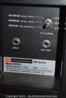Pr. of JBL MR Series Speakers
