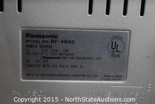 Panasonic Premix Double Superheterodyne
