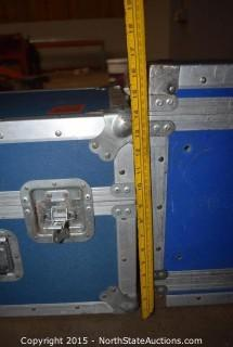 Lot of Equipment Cases and Soundcaft Ui24R