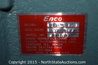 Enco Metal Notcher on Stand with Wheels