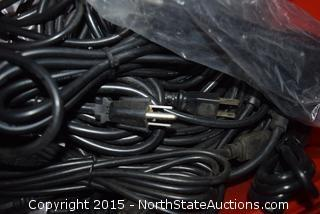 Lot of Misc Electrical Cords