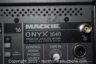 Mackie ONYX 1640 Premium Analog Mixer