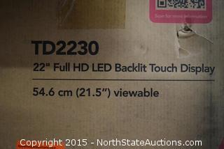 View Sonic TD2230 Full HD LED Backlit Touch Display