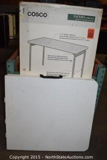 Lot of  Folding Tables