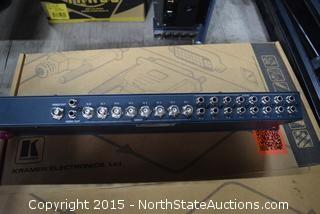 Kramer Electronics, Ltd. 8x1 Video/Audio-Stereo Switcher