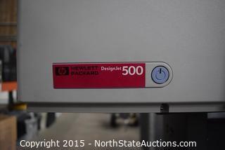 Hewlett-Packard DesignJet 500 Printer