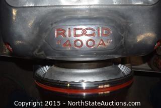 RIDGE 400A Pipe Threader