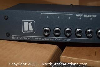 Kramer Electronics,  Ltd. 8x1 Audio-Stereo Switcher