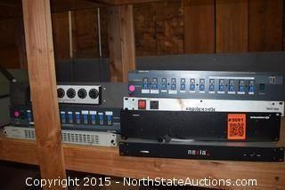 Lot of Audio/Visual Equipment