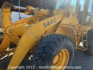 John Deere 544E  Loader with 4in1 bucket