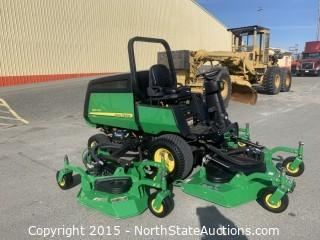 John Deere 1600 Wide Area Mower, Turbo Series II Diesel Mower