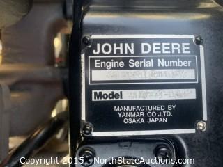 John Deere 1600 Wide Area Mower, Turbo Series II Diesel Mower